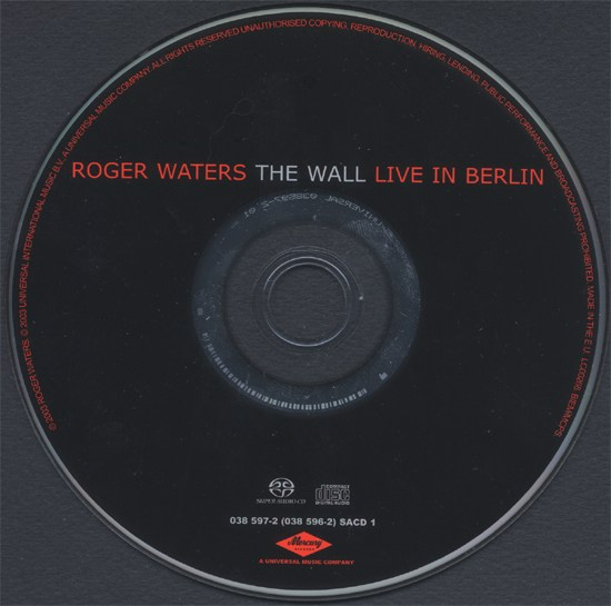 Roger Waters The Wall Live in Berlin Wall Live in Berlin Sacd
